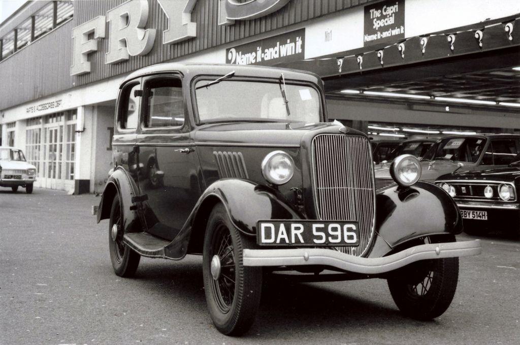 Fry's Cars of Lewisham SE13 Classic Garages and Petrol