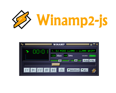 Winamp2-js – Reimplementation of Winamp with HTML5 and
