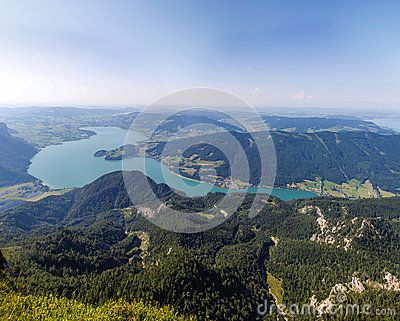#View To #Lake #Mondsee From #Schafbergspitze 1.783m @dreamstime #dreamstime @Salzkammergut @iSalzkammergut #Salzkammergut #travel #summer #beach #holidays #vacation #austria #landsacpe #nature #outdoor #bluesky #hiking #view #beautiful #mountains #stock #photo #portfolio #download #hires #royaltyfree