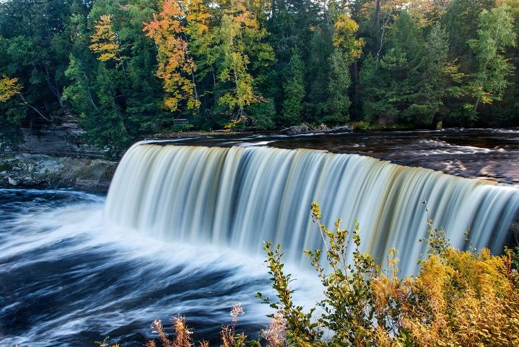 The Real Pure Michigan Michigan Waterfalls Buckets And Beautiful Places
