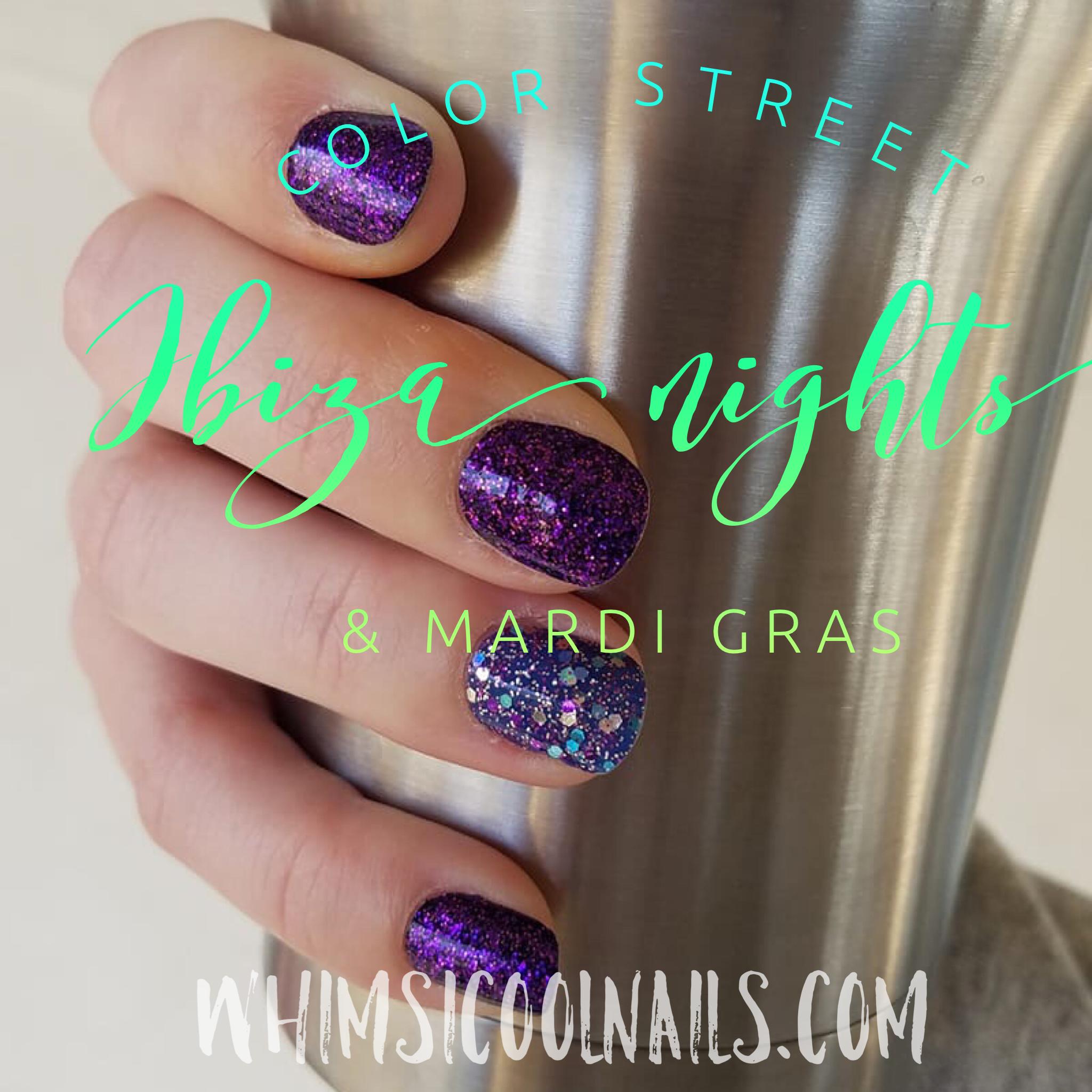 Ibiza Nights & Mardi Gras / Color Street nail polish strips | color ...