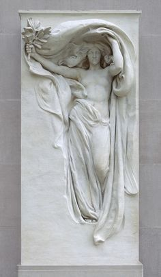 Mourning Victory (1897)   Daniel Chester French