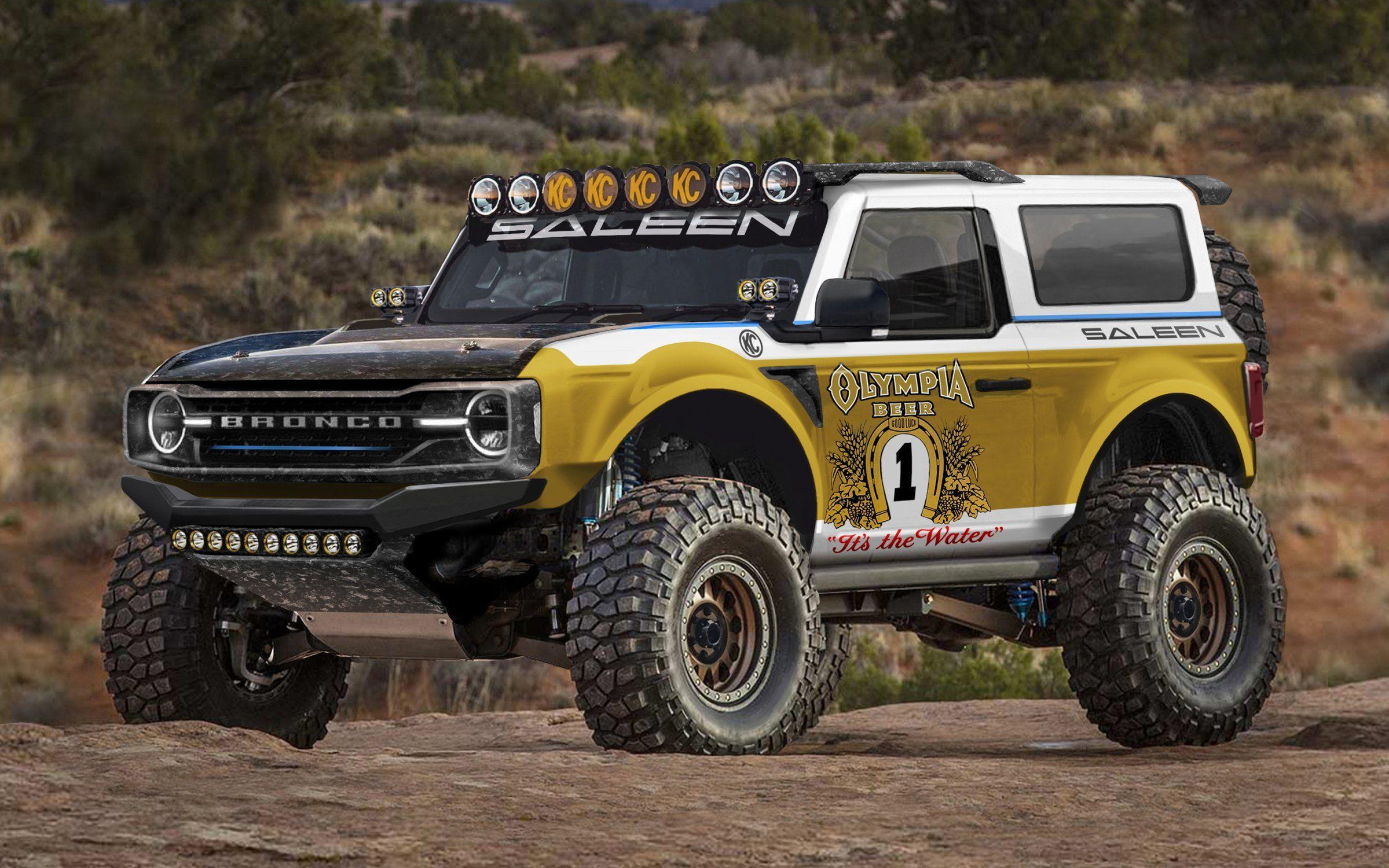 Saleen Big Oly Bronco in 2020 Ford bronco, Bronco, Baja 1000