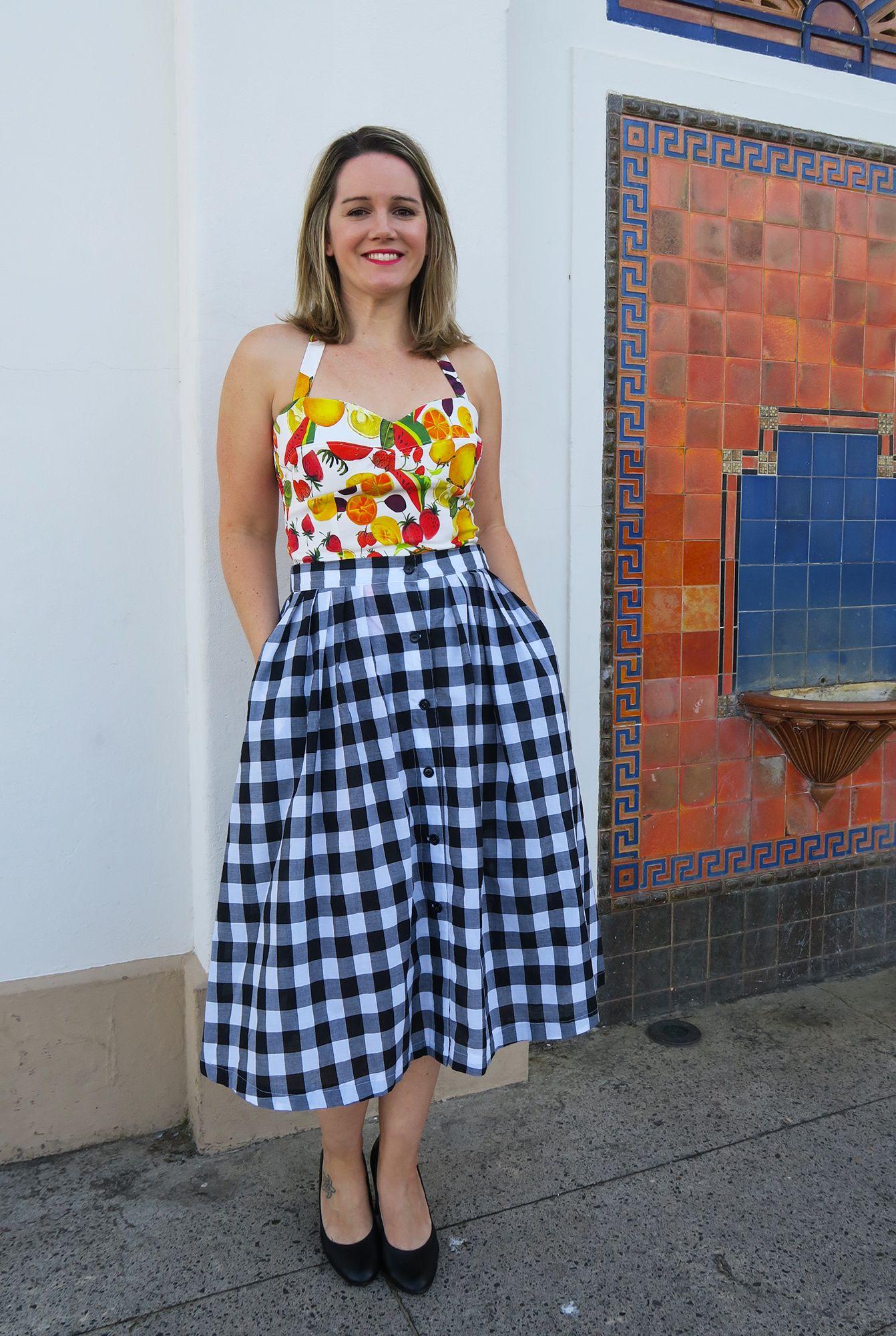 Gertie sews vintage casual book halter top pattern + Kwik Sew 3931 ...
