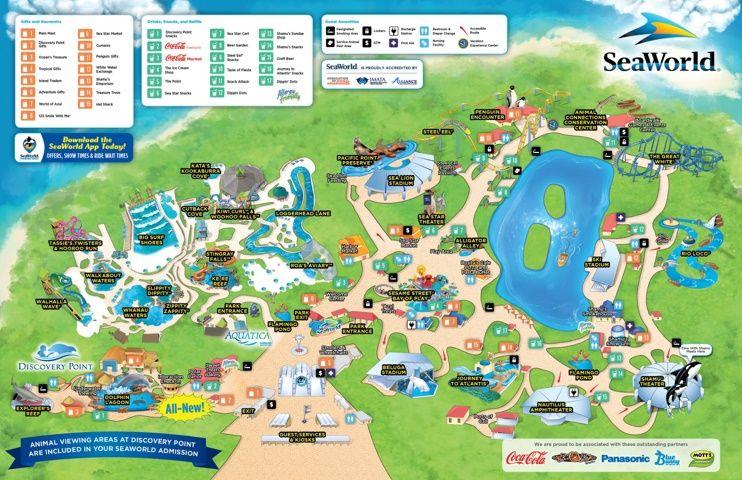 San Antonio Seaworld Map Seaworld San Antonio San Antonio Sea World Sea World
