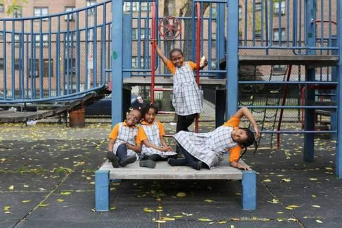 """humansofnewyork:  """"Friends should be friends together, and play together, and not let another friend be lonely. They should make a game together, and have fun together, and not let them kick people or punch people. They should also watch fairy movies and play in the park."""""""