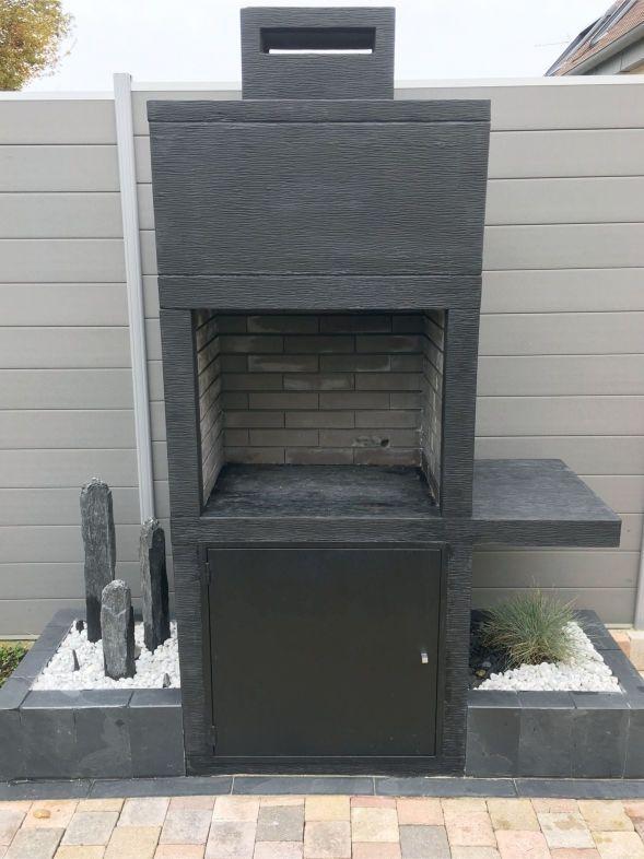 My Barbecue Barbecue contemporain Impexfire pierre AV15M