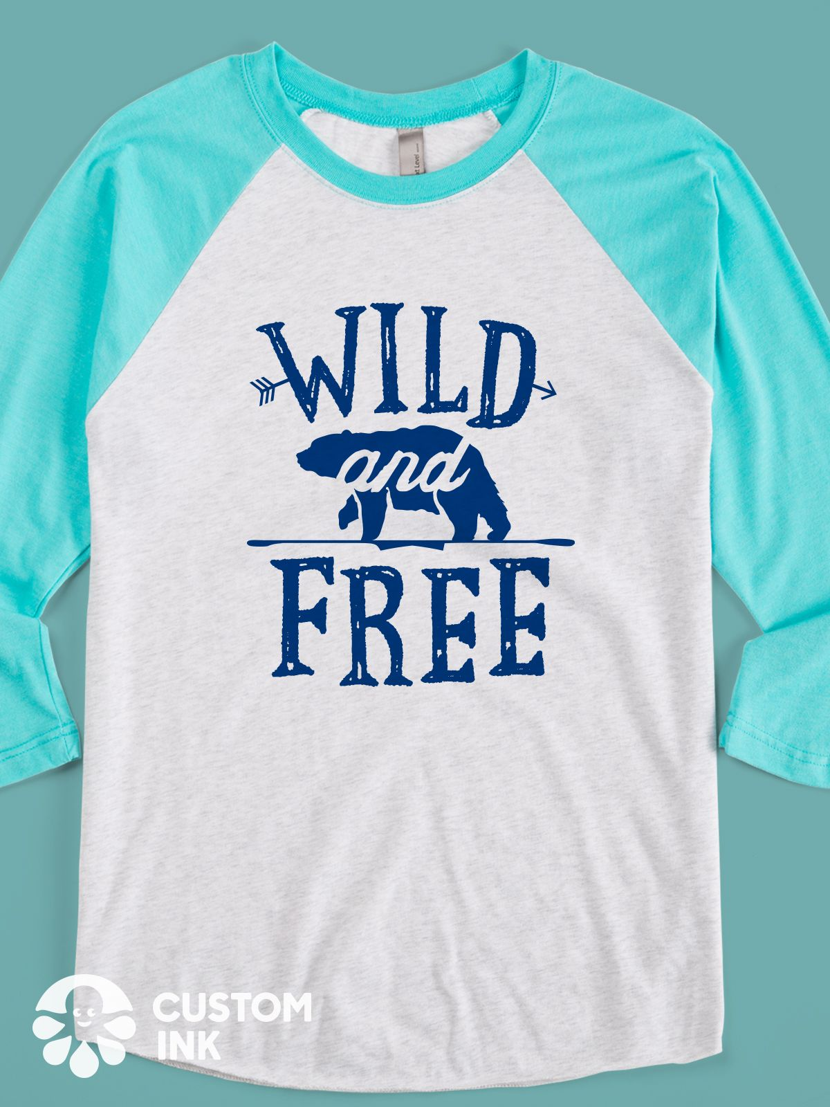 Wild And Free Is The Perfect Hand Lettered Inspirational