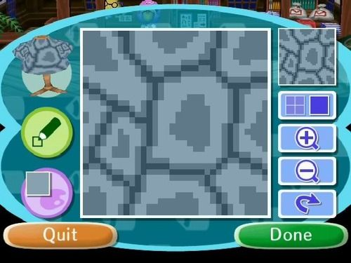 Gallery For > Animal Crossing Ground Pattern