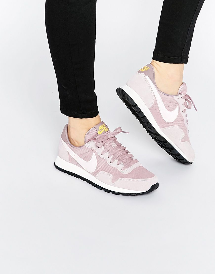 buy online 51c81 9b3db Image 1 of Nike Plum Fog Air Pegasus  83 Trainers
