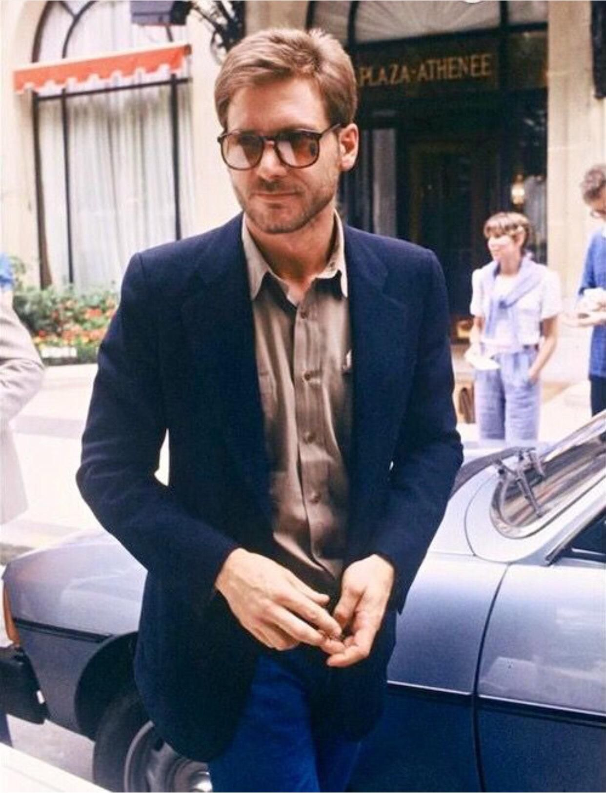 Harrison Ford, Paris, 1980