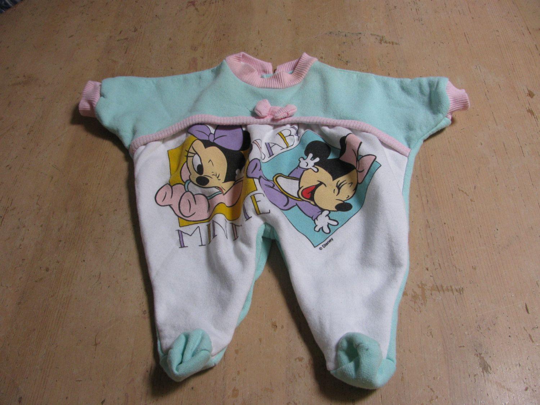 Vintage Disney Newborn Romper With Footsies Etsy Retro Disney Strampler Neugeborenes