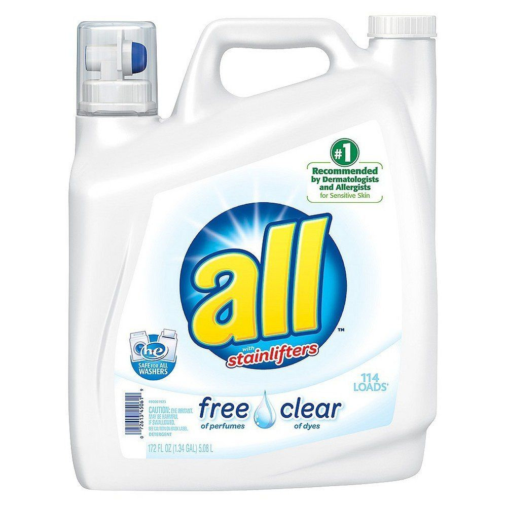 Target Offers 2x 162 Oz All Free Clear Liquid Laundry Detergent