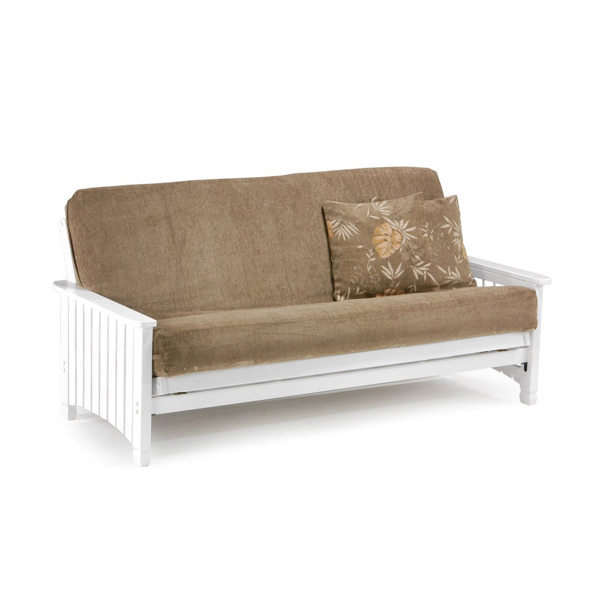 Medium image of key west white futon frame  436