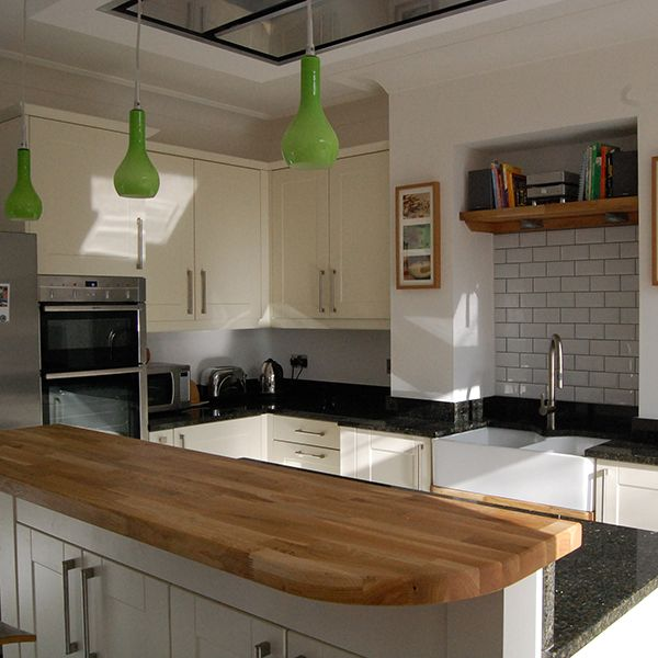 Kitchen Worktops Colours: West Park Leeds . We Love The Mix Of Granite And Oak