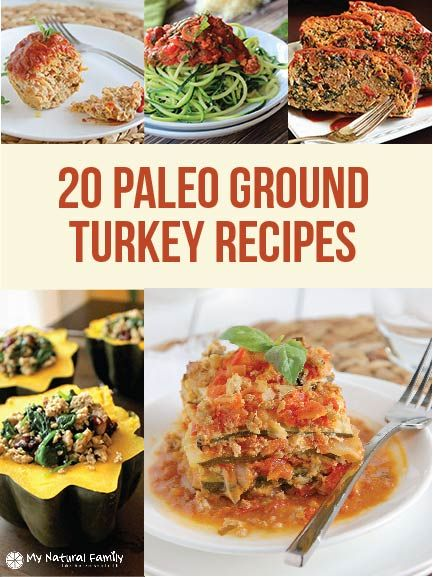 25 Paleo Ground Turkey Recipes Youll Want To Eat