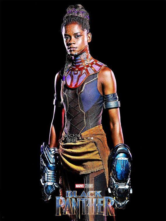 Black Panther Shrui character original artistic poster Marvel comic movie quality print
