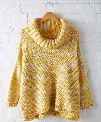 Lemon Curry Ease Pullover | Stricken | Pullover stricken