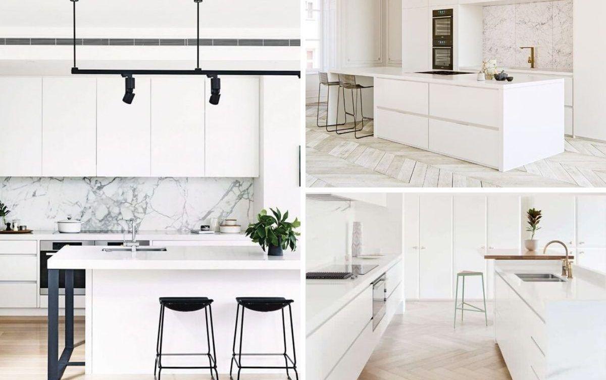 Cuisine blanche : 15 concepts pour montrer votre côté lumineux
