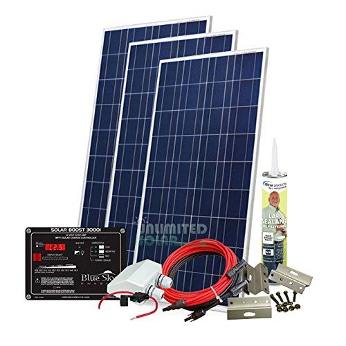 Unlimited Solar 480 Watt 12 Volt Suneli Mppt Rv Solar Panel Kit For More Information Visit Image Link N Solar Panels For Home Rv Solar Panels Solar Panels