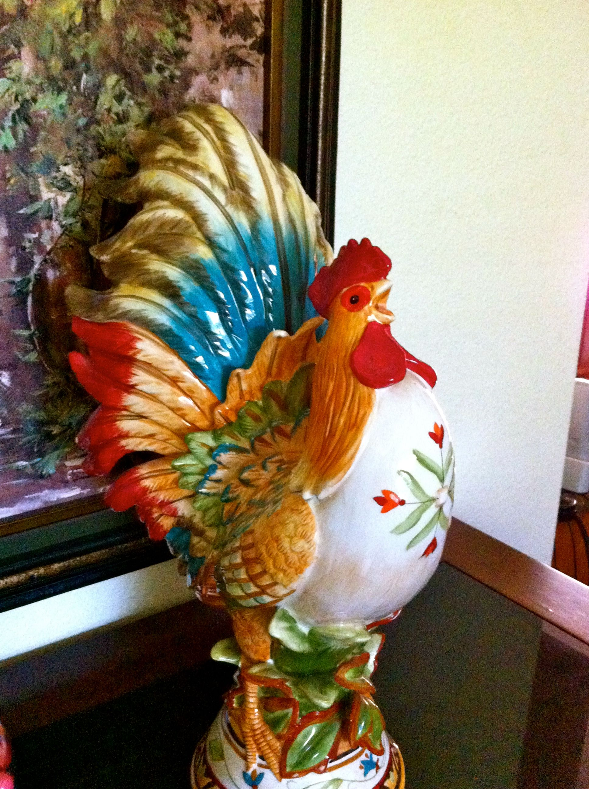 fitz and floyd rooster i love it products i love pinterest