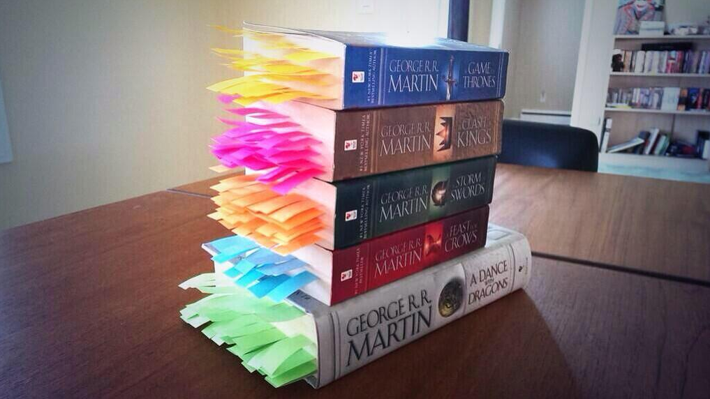 Every Death in the Game of Thrones Novels, Bookmarked | Underwire | Wired.com