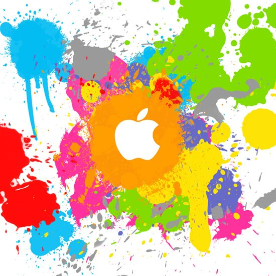 colorful apple logos. 85 Free Apple IPad Wallpapers Featuring The Logo Colorful Logos O