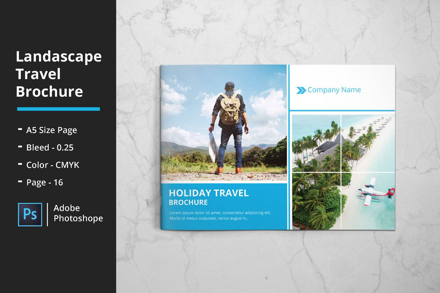 Travel Agency Brochure Template Template