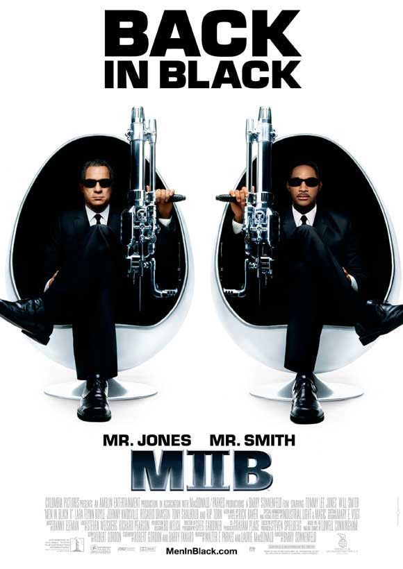 Men In Black 2 27x40 Movie Poster 2002 Homens De Preto Black