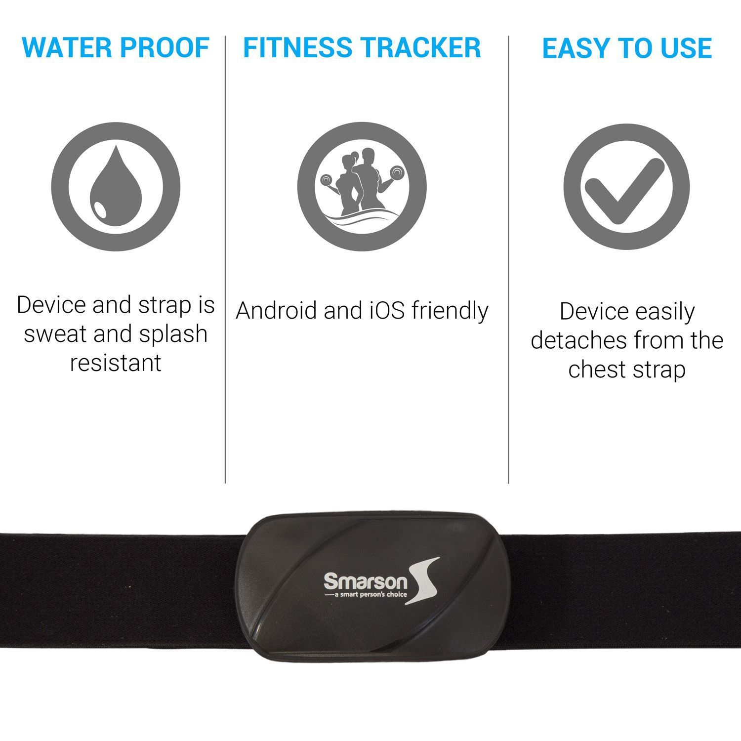 Accurately track your heart rate during any workout or