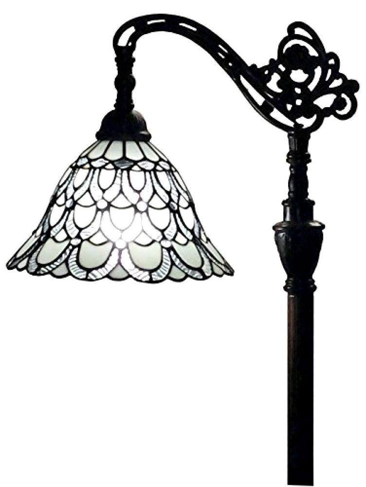 Details About Stained Glass Floor Lamp Accent Light Art Deco