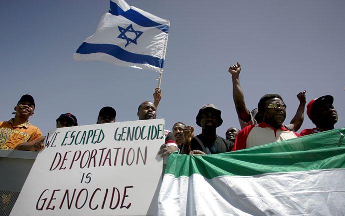 Sudanilaispakolaiset yrittävät turhaan päästä Israeliin.
