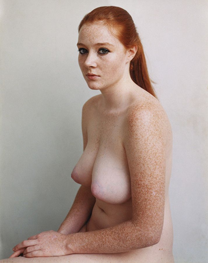 Girl ginger with freckles naked remarkable