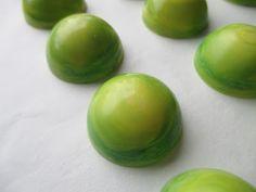 Lime-coconut pralines