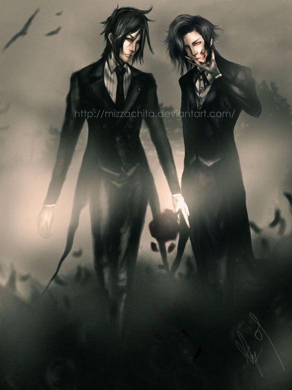 Black Butler (Kuroshitsuji) - Claude Faustus x Sebastian Michaelis ...
