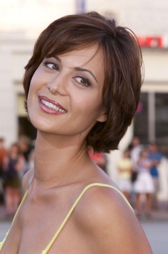 Catherine Bell Short Haircut : catherine, short, haircut, Catherine