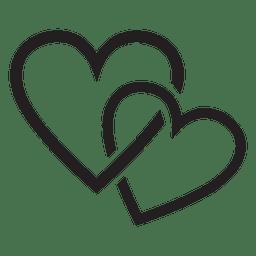 Pareja Logo Del Corazon Imagenes Vectores Pantalla De Iphone Fondos De Pantalla De Iphone