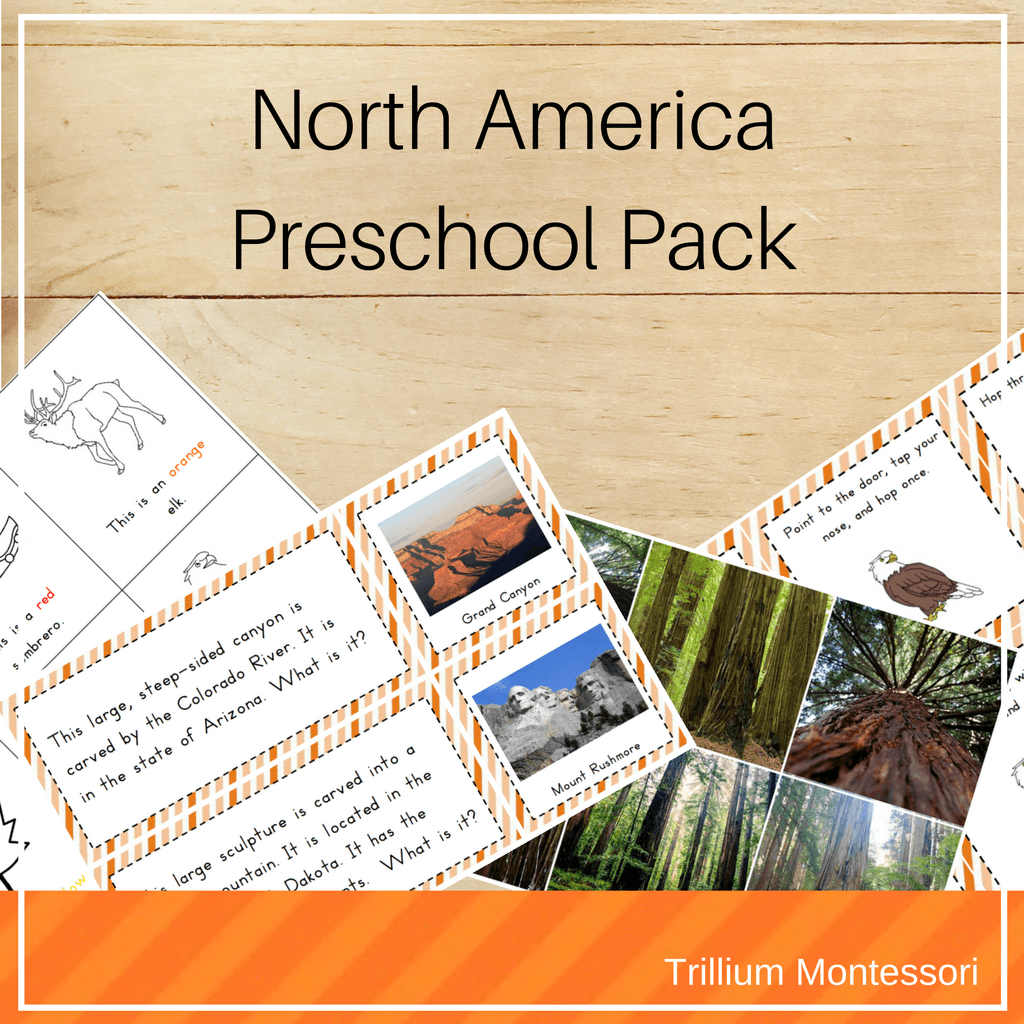 North America Preschool Pack In With Images