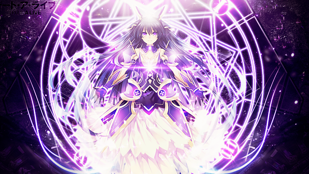 Wallpaper Date A Live Tohka By Kandarin On Deviantart Date A Live Date A Life Dating