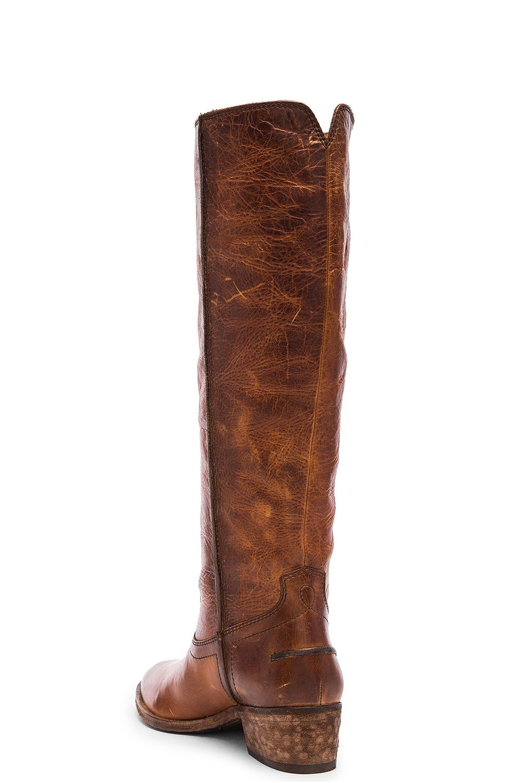 Frye Ray Seam Tall Boot in Cognac | REVOLVE