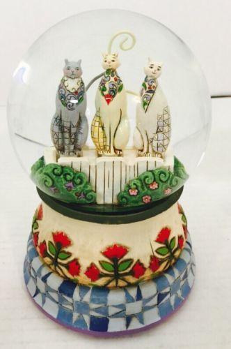 Jim-Shore-Kittens-On-The-Fence-4011845-Musical-Feline-Globe