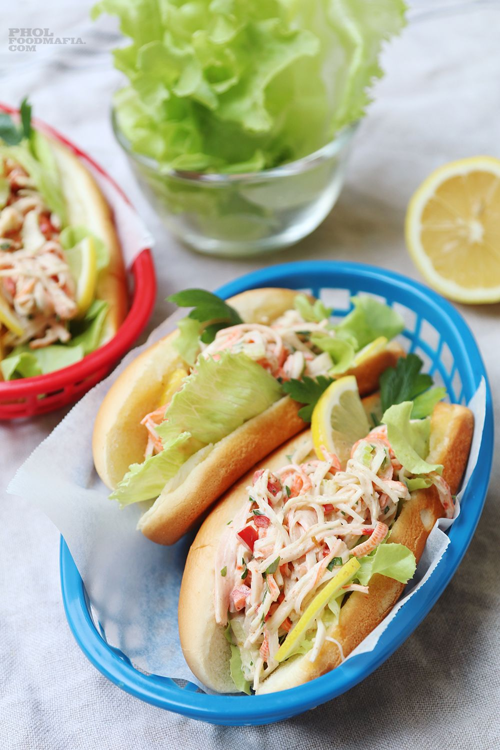 Delicious salads with crab sticks - variations of classic recipes 29