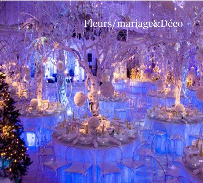 d coration mariage hiver recherche google winter wedding pinterest d coration mariage. Black Bedroom Furniture Sets. Home Design Ideas