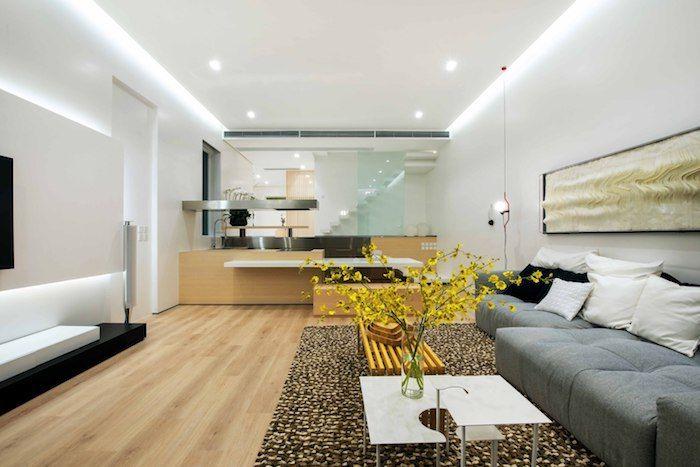▷ 1001 + Ideen und Bilder zum Thema Haus einrichten - Wohnzimmer Braunes Sofa