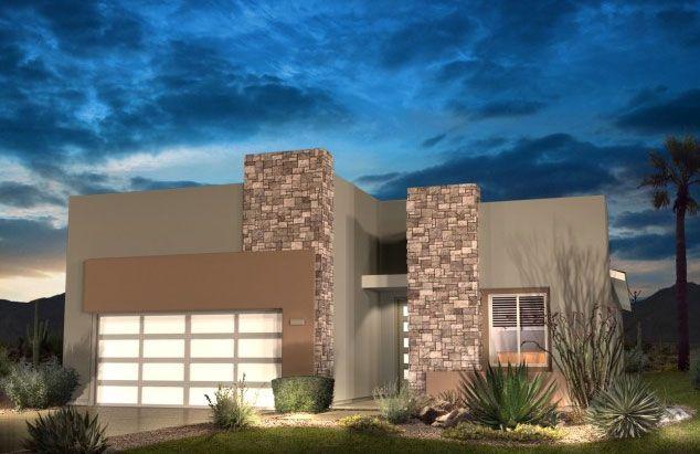Shea spaces model homes