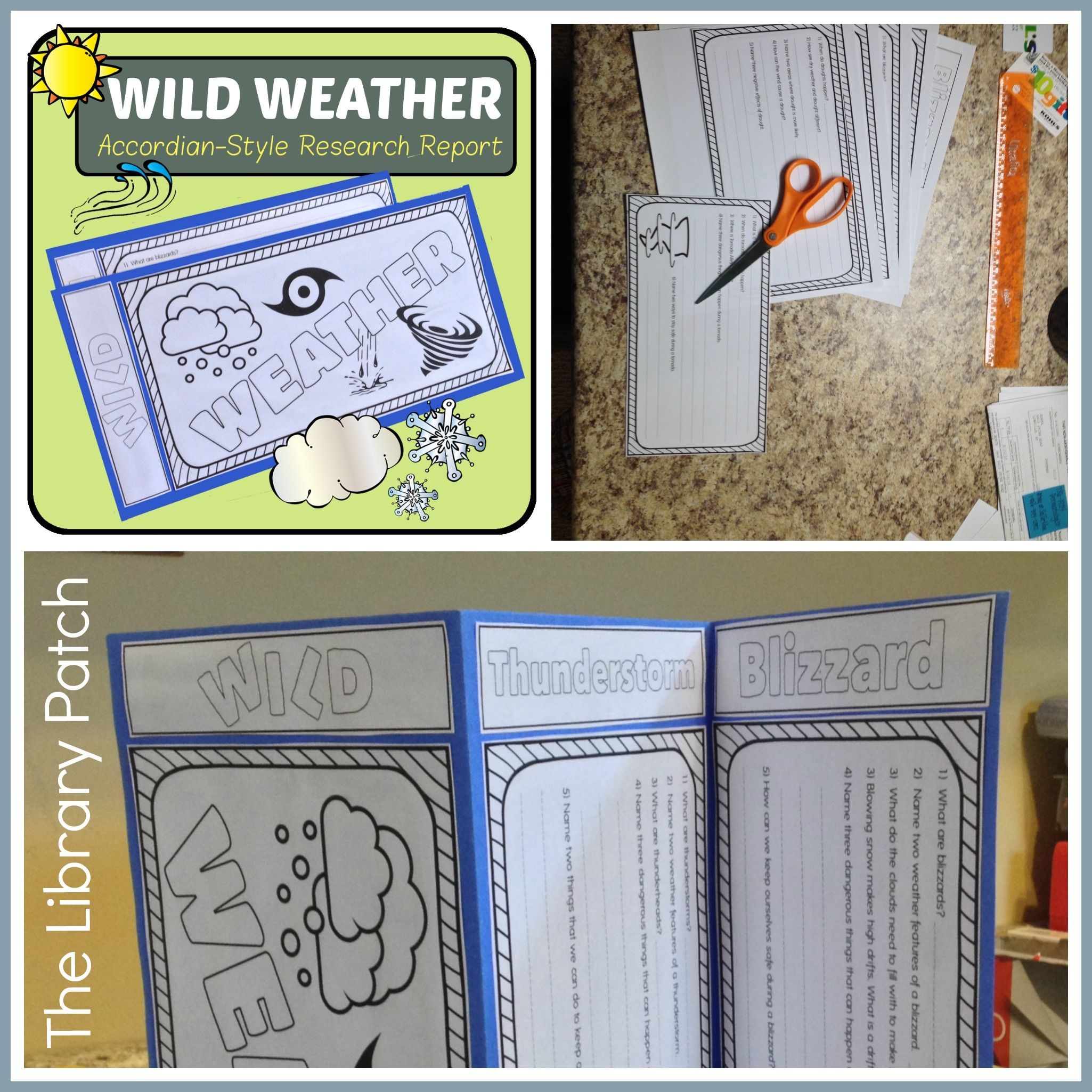 Wild Weather AccordianStyle Research Report  Weather Storm Wild