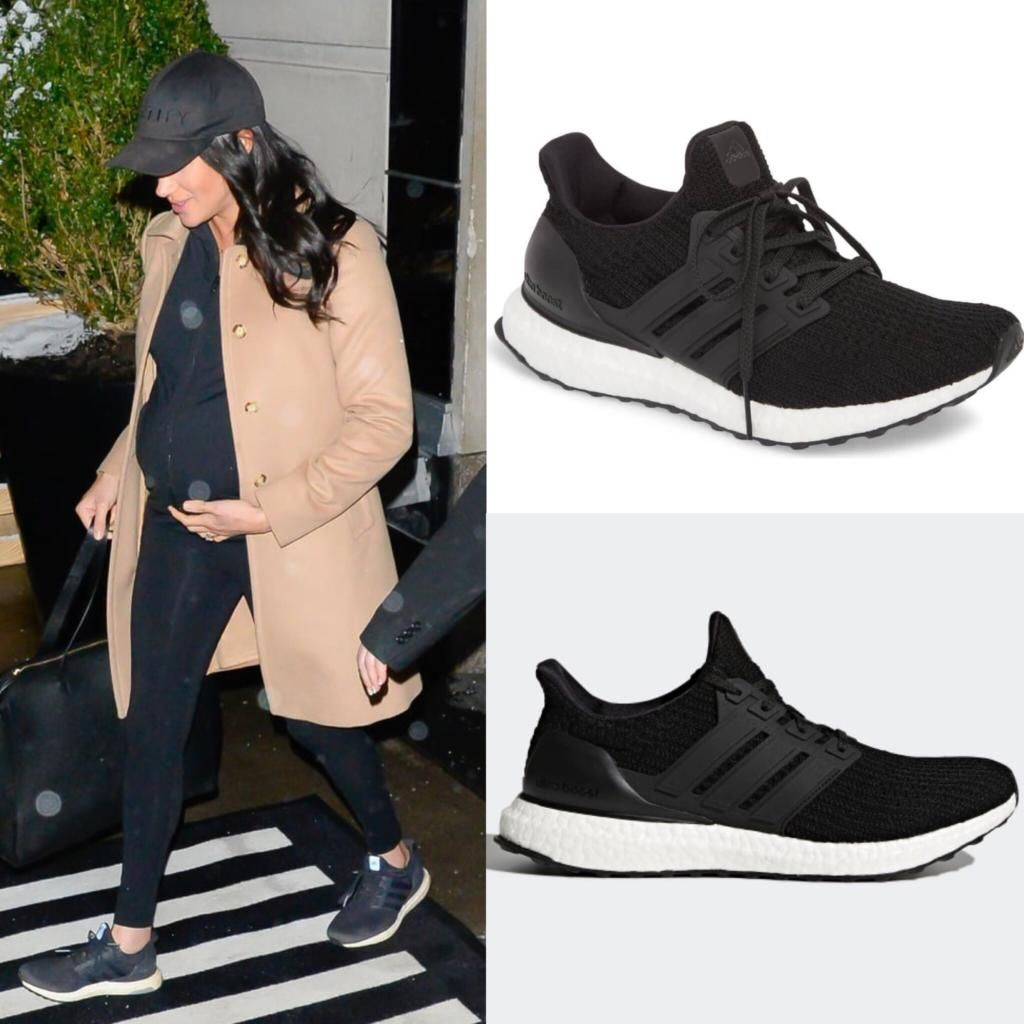 b0b7a11ea35 Adidas Black  UltraBoost  Running Shoes-Meghan Markle - Dress Like A Duchess