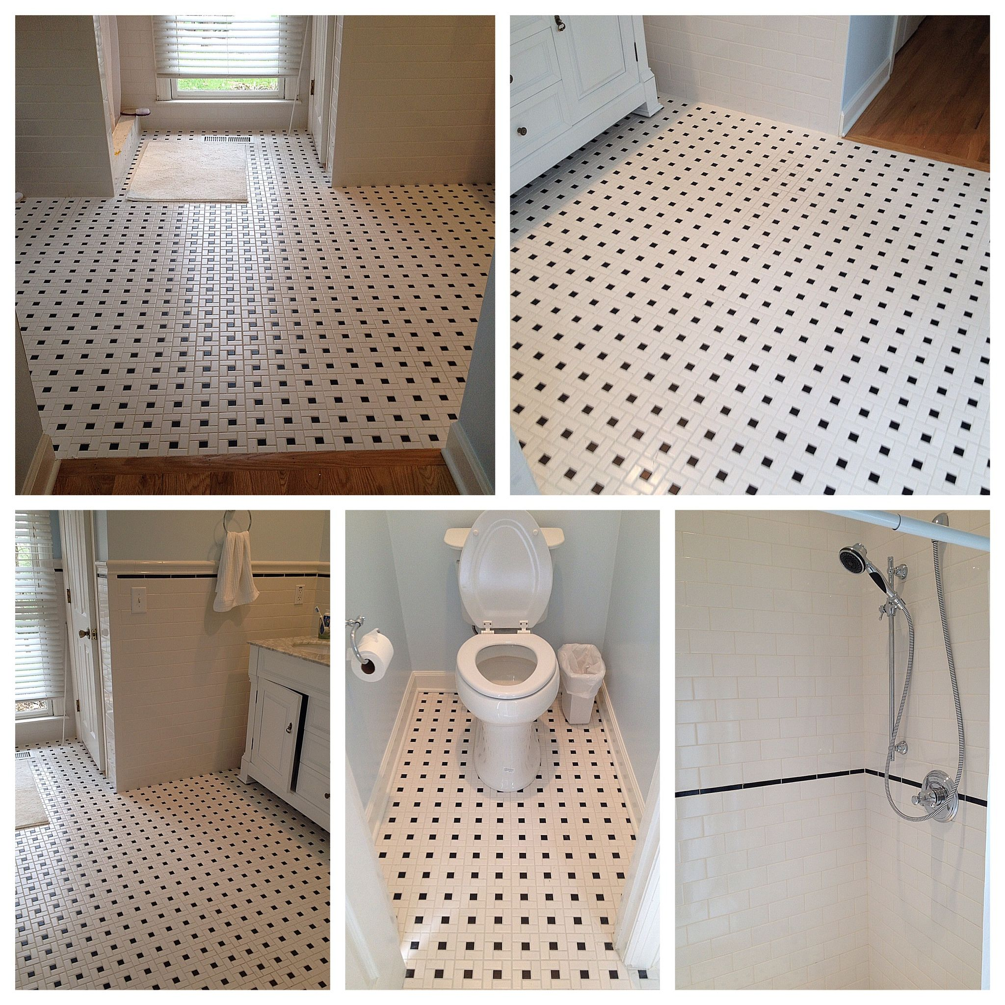 Pinwheel Mosaic Tile | Tile Design Ideas