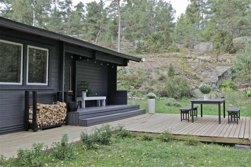 cabin in Finland, but could be just as easily in the Pacific NW :: time of the aquarius