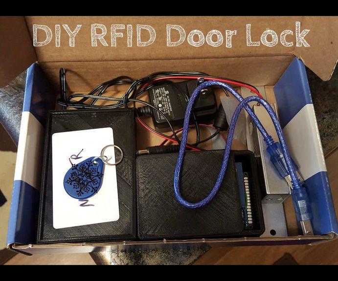 Diy Rfid Door Lock Door Locks Diy Doors